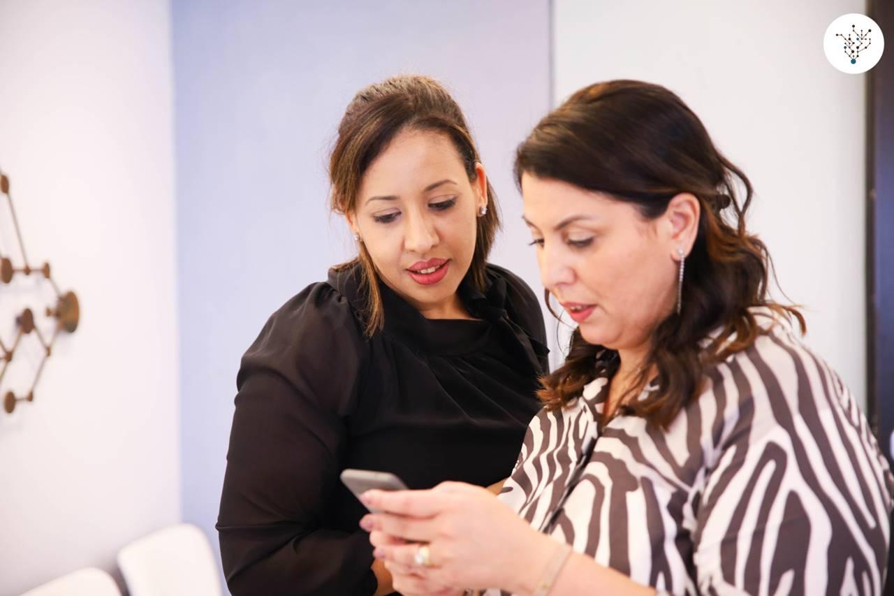 Fatiha Chakir e Giovanna Saccone - Fondazione Saccone
