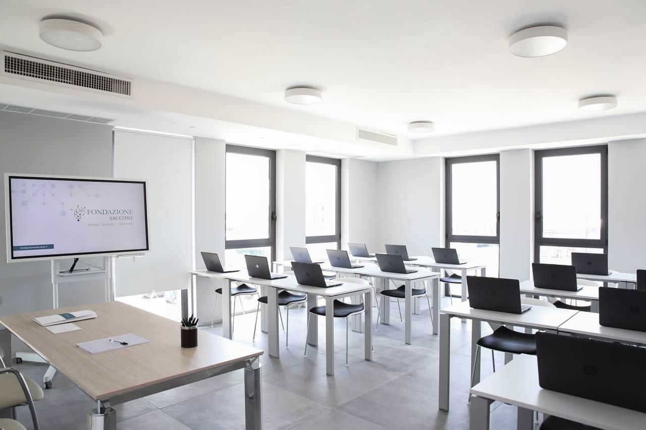 Sala multimediale - Fondazione Saccone